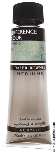 Daler Rowney 75ml Interference Green