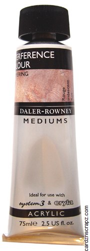 Daler Rowney 75ml Interference Red