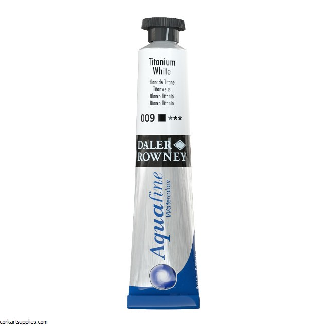 Aquafine 8ml Titanium White