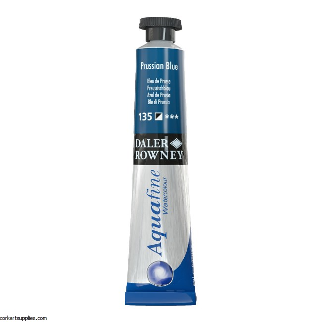 Aquafine 8ml Prussian Blue