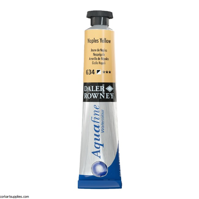 Aquafine 8ml Naples Yellow