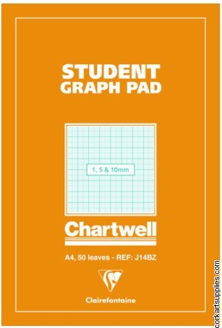 Graph Pad Student A4 50s