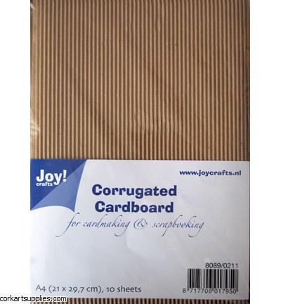 Joycrafts (10) Corrugated Cardboard