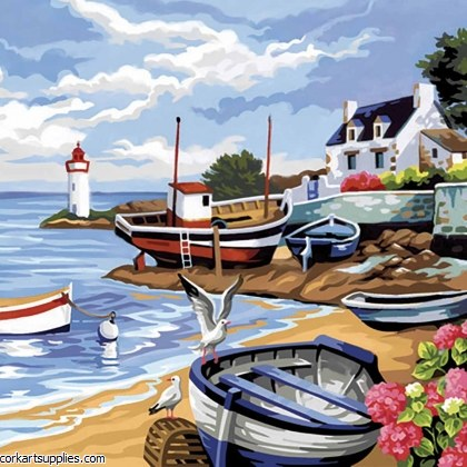Paint By Numbers Fishing
