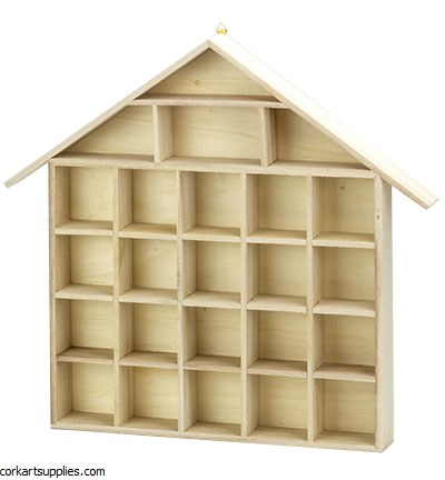 Wooden House Shelf Mini