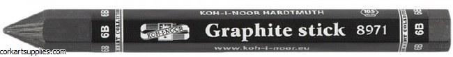Graphite Crayon Koh-I-Noor 6B