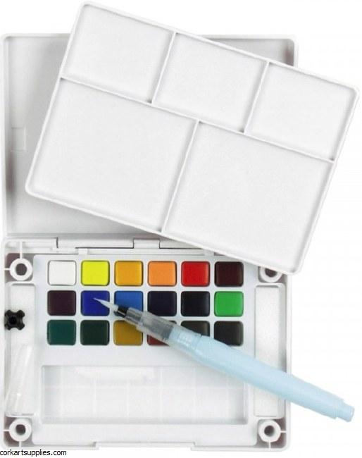 Koi Watercolour Pocket Field box 18pk
