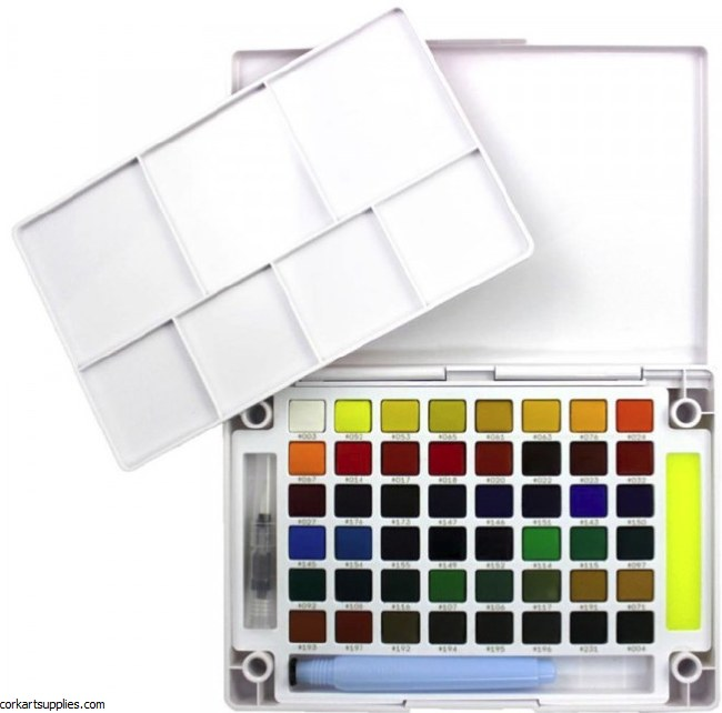 Koi Watercolour Pocket Field box 48pk