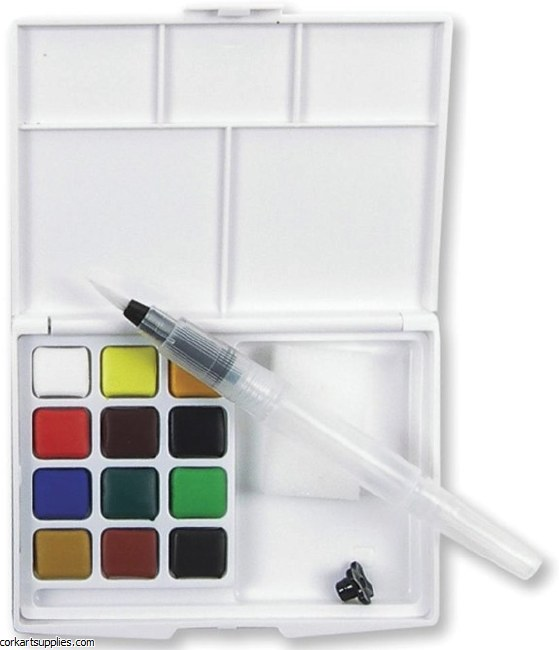 Koi Watercolour Pocket Field box 12pk