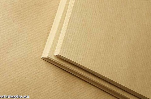 Kraft Paper Ribbed 120g A1 **Minimum Order Quantity of 3**