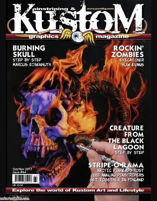 Pinstriping & Kustom Mag #64