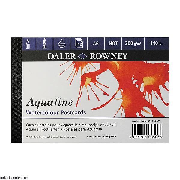 Aquafine Postcard Pad A6