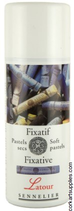 Fixative 400ml Sennelier Chalk Pastel