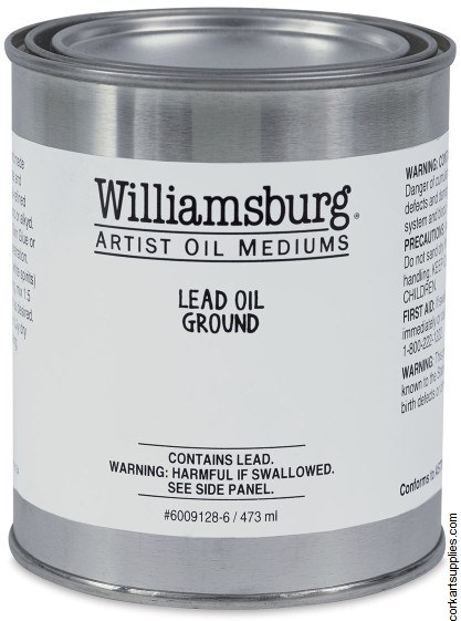 Williamsburg Lead Oil Ground 473ml