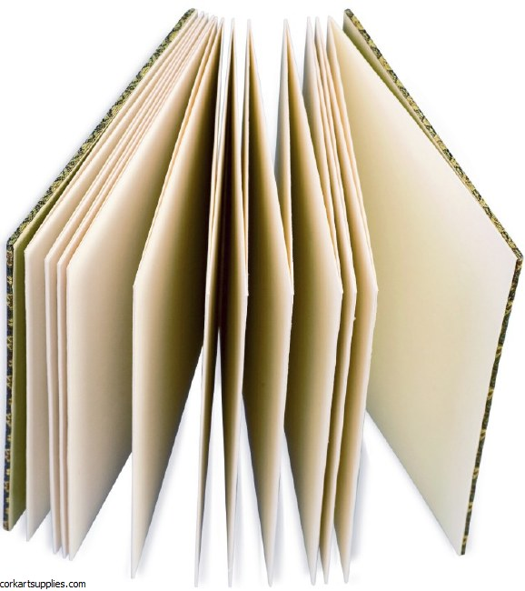 Leporello Concertina Sketchbook 12x9cm