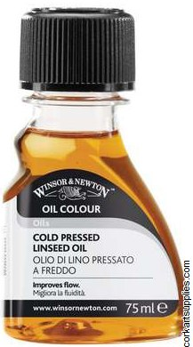 Winsor & Newton 75ml Linseed Oil Cold Pressed
