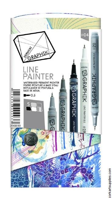 Derwent Graphik Line Painter 4