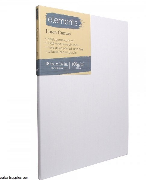 Linen Canvas Elements 18x14