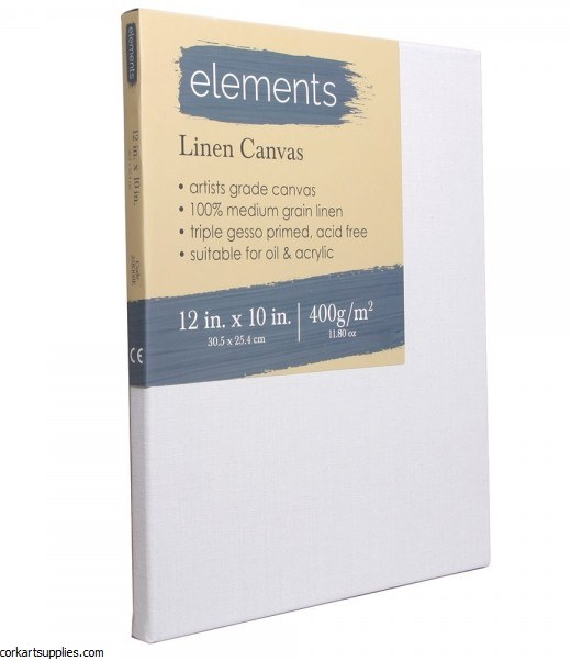 Linen Canvas Elements 12x10