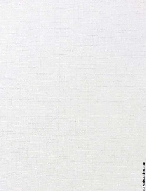 Linen Card A4 White