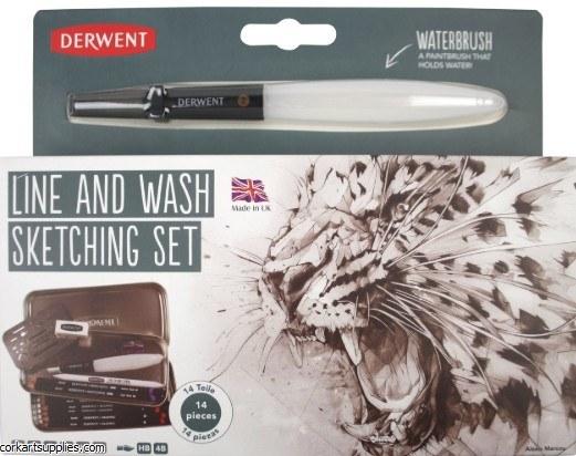 Derwent Line & Wash 14pk
