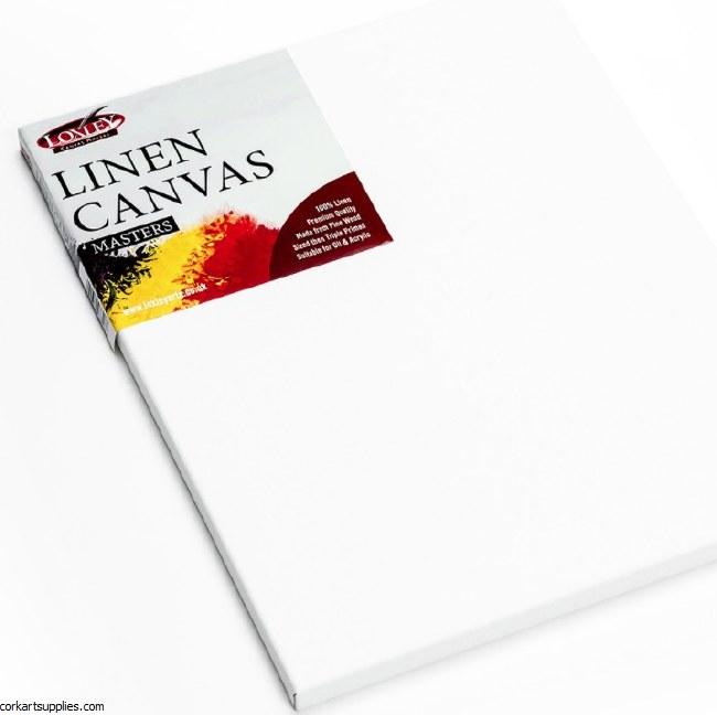 Linen Canvas 16x12 Gesso Prime