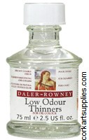 Daler Rowney 75ml Low Odour Thinners