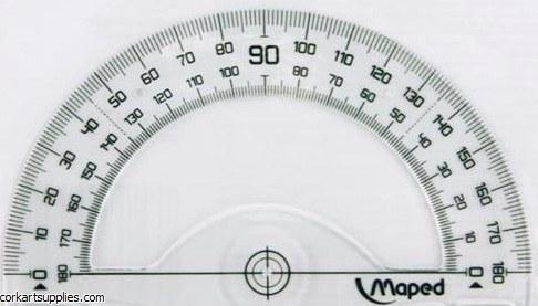 Protractor 12cm