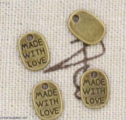 CAS Embellies W/Love Bron 14pk