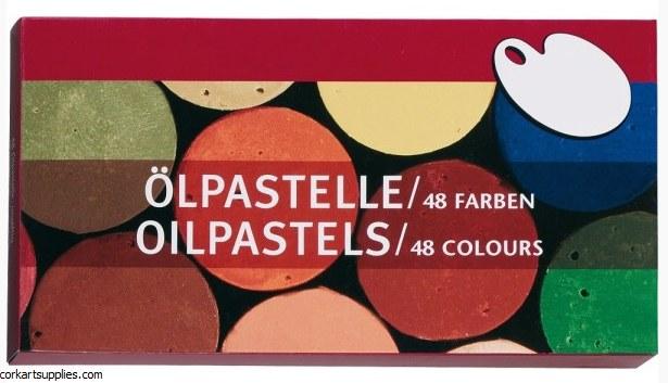 Oil Pastel 48 Pack Mal