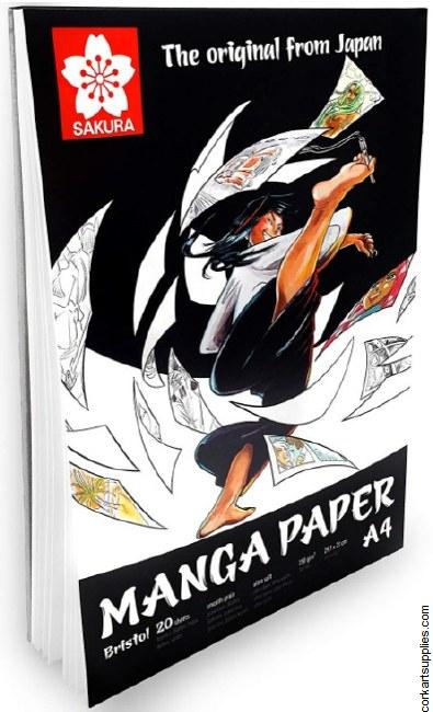Manga Paper A4 Pad Sakura^