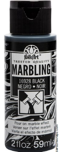 FolkArt Marbling Ink 2oz/59ml Black