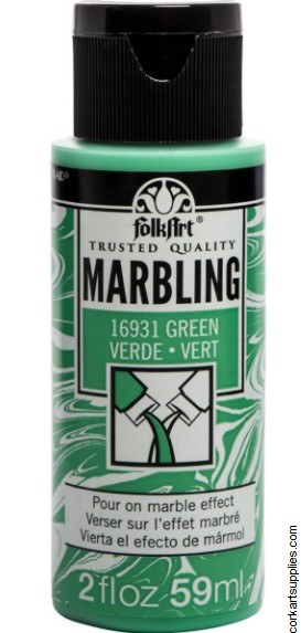 FolkArt Marbling Ink 2oz/59ml Green