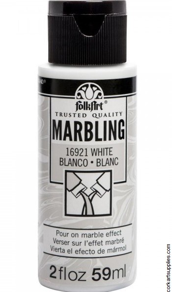FolkArt Marbling Ink 2oz/59ml White