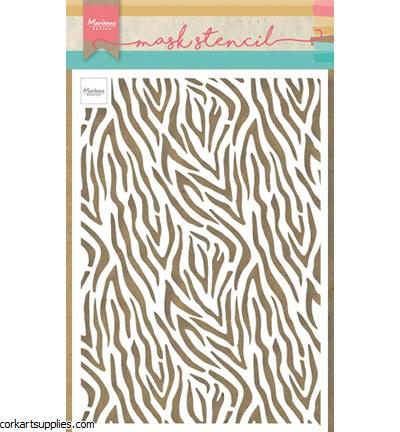 Stencil A5 MD Zebra