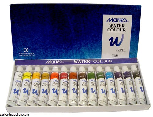 Maries Watercolour 12ml 14 Pack