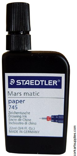 Marsmatic Ink Bottle 22ml Black