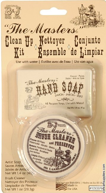 Masters Soap & 30g Cleaner Kit