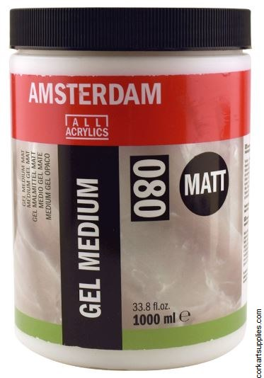 Amsterdam Gel Medium Matt 1L