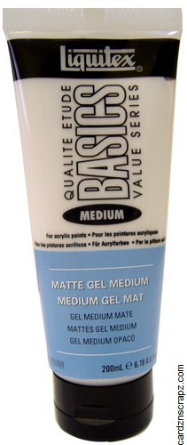 Liquitex Basic 200ml Matt Gel Medium