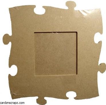 MDF Jigsaw Frame 9x9