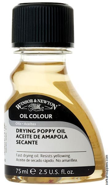 Winsor & Newton 75ml Drying Poppy Oil