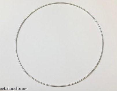Metal Rings 3mm Silver Ø25cm