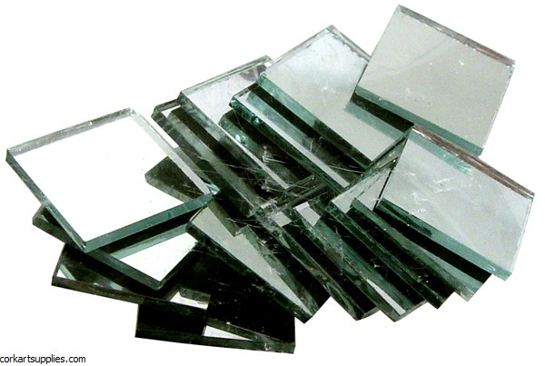 Mirrors Squ Tiles 20mm 95gm