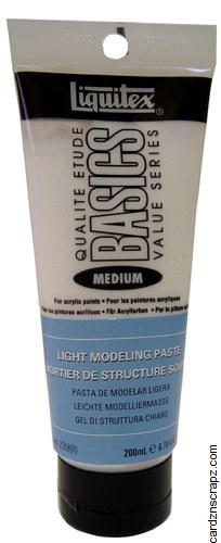 Liquitex 200ml Light Modelling Paste
