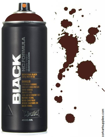 Montana BLACK Spray 400ml - Jawa Brown