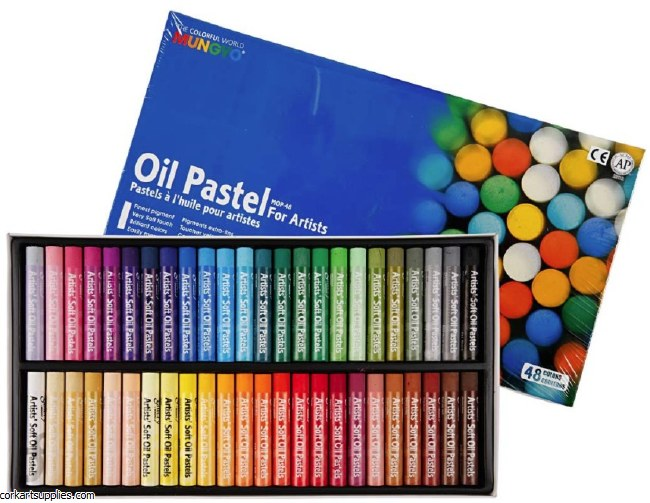 Mungyo Oil Pastel 48pk