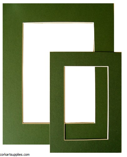 "Mounts 5x7"" Forest Green"