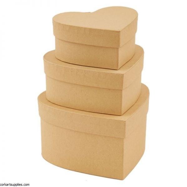 Nesting Boxes Heart S/M/L 3pk