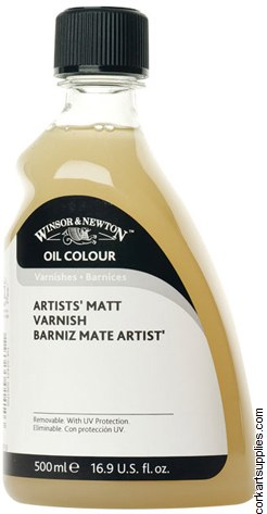 Winsor & Newton 500ml Artists Matt Varnish